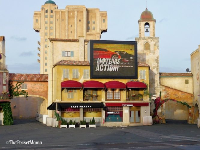 spettacolo Moteurs Action a Disneyland Paris