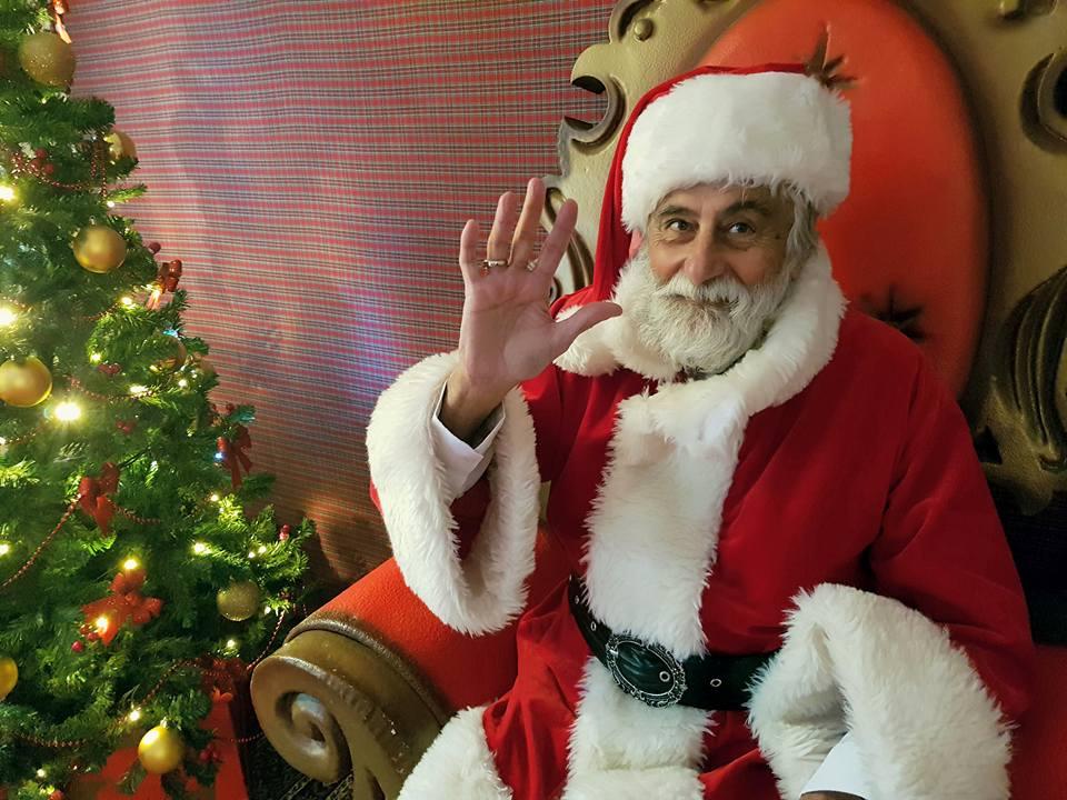 la casa di Babbo Natale al Villaggio di GiuEle