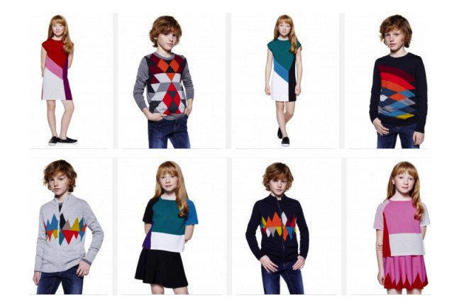 benetton carnival kids collection