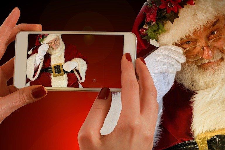 come ricevere un videomessaggio da Babbo Natale