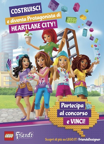 Poster Lego Friends