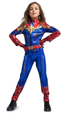 costume carnevale disney captain marvel
