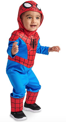 costume carnevale disney spider man