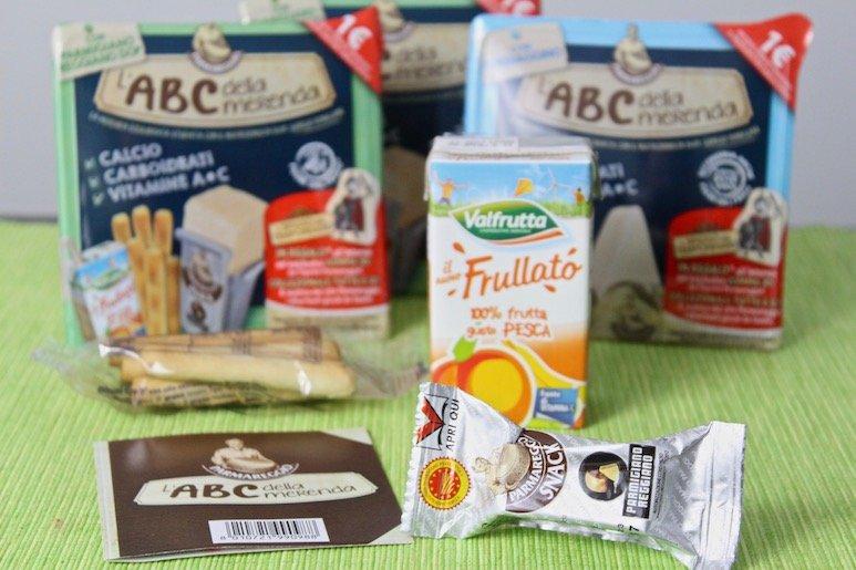 kit ABC della merenda parmareggio