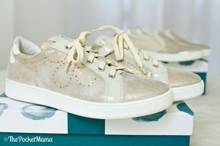 sneakers color sabbia ninette en fleur
