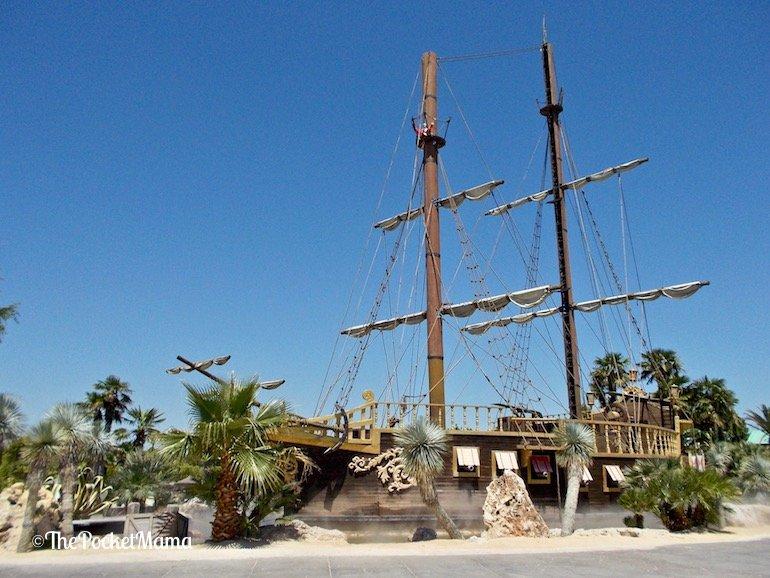 galeone dei pirati aqualandia