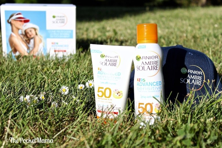 solari garnier ambre solaire advanced sensitive kids