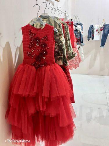 vestito rosso Pamilla SS 2018