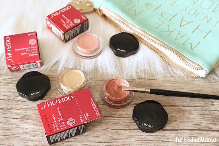 ombretti Shimmering Cream Eye Color di Shiseido