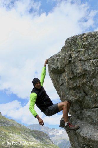 arrampicata sulle rocce