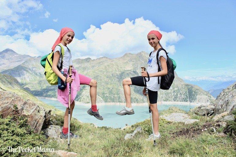 sulle tracce dei dinosauri al lago Emosson in Svizzera