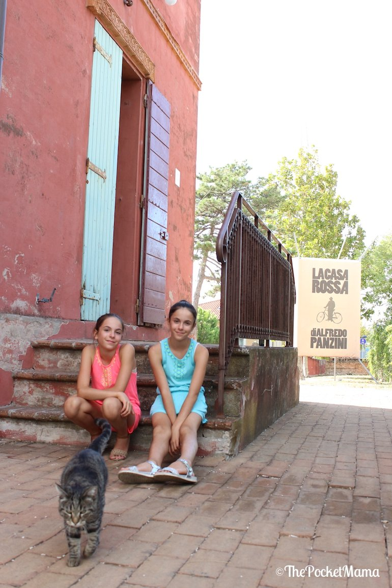 visita alla casa rossa a bellaria igea marina
