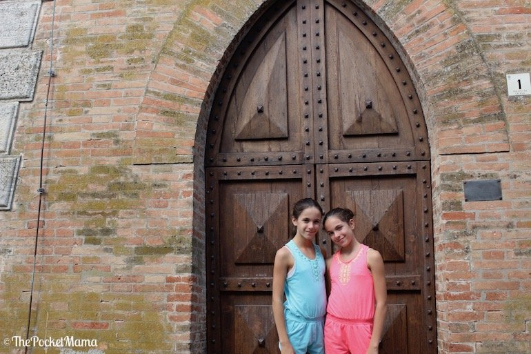 ingresso torre campania santarcangelo di romagna