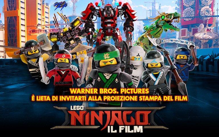 locandina Lego Ninjago