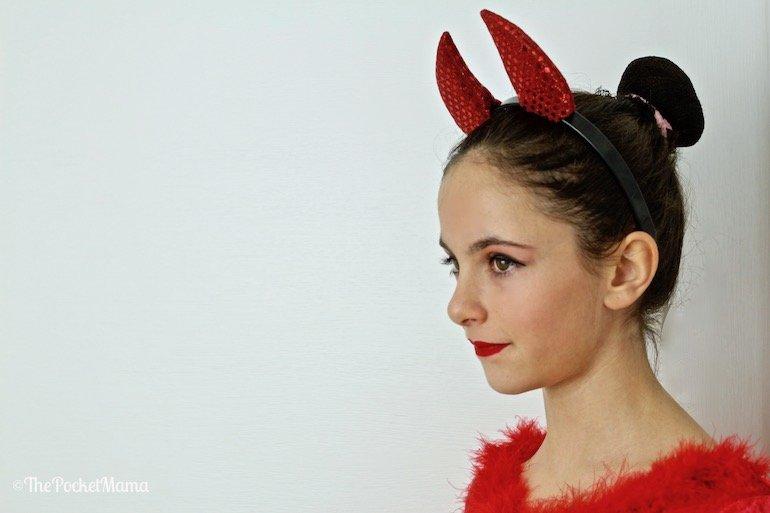 make-up Halloween diavoletta
