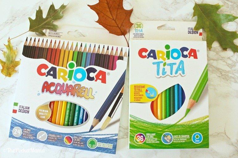 matite colorate Tita e Acquarell Carioca