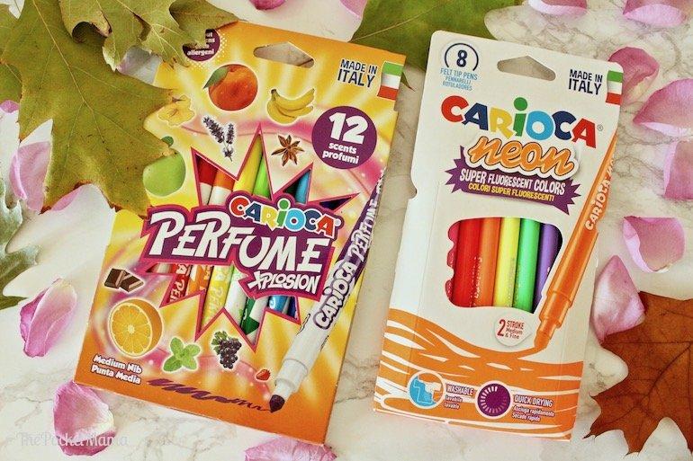 pennarelli Neon e pennarelli Parfume xplosion Carioca