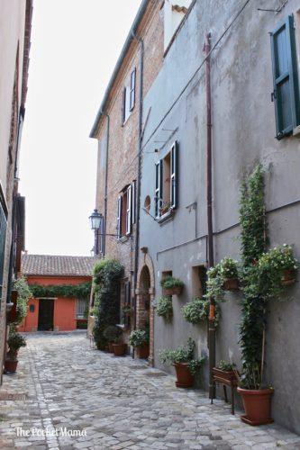 vicoli di Santarcangelo di Romagna