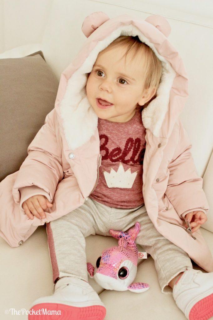 piumino rosa Zara baby