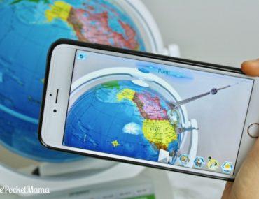 realtà aumentata di Smart Globe di Oregon Scientific