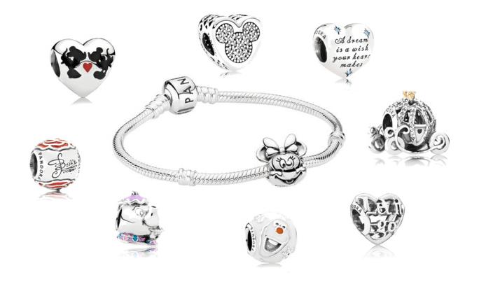 Charm collezione Disney per Pandora