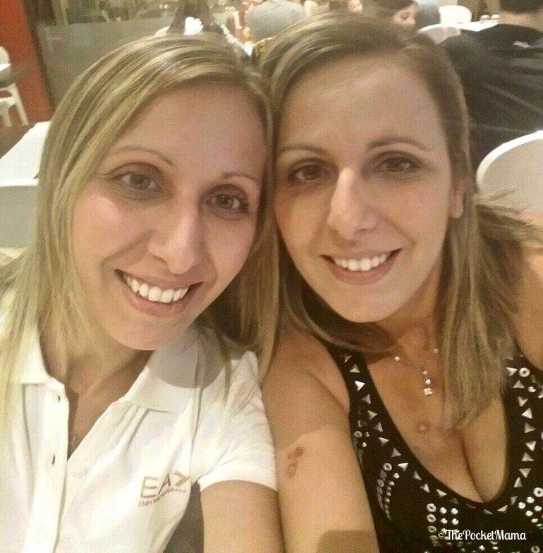 Pamela e Claudia, gemelle omozigote a confronto