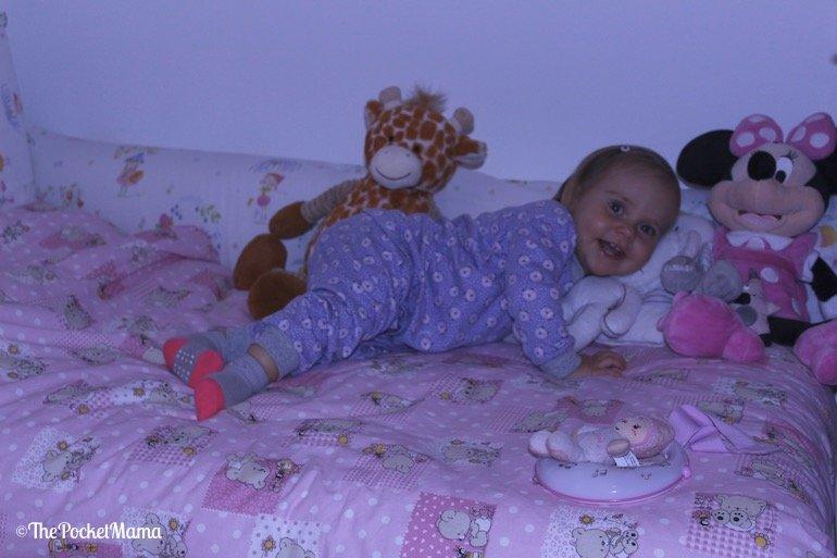 letto montessoriano bambina