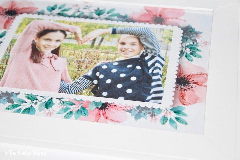 cornice fai-da-te con stampante HP Envy Photo