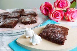 ricetta dei brownies al cioccolato