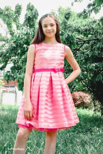 vestito rosa Holly hastie