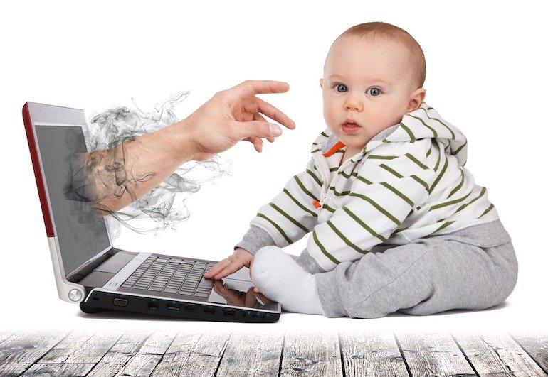 sicurezza online di bambini e adolescenti
