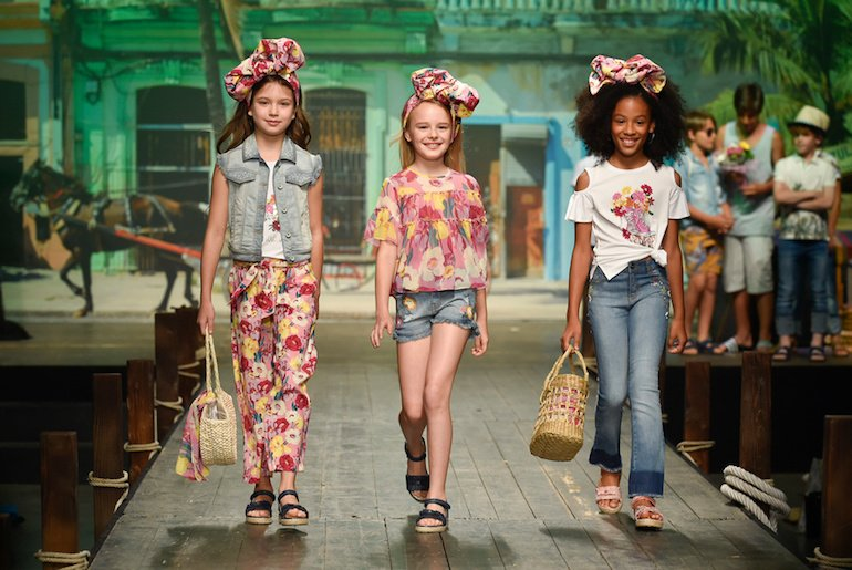 Tendenze moda bambina spagnola primavera-estate 2019