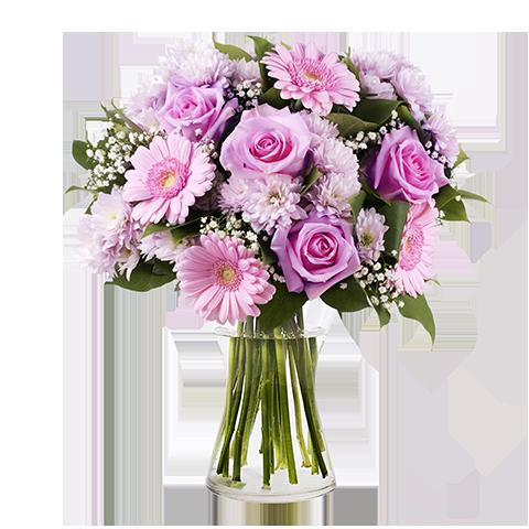 omaggio floreale per la neomamma