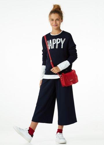 pantaloni gaucho liu-jo