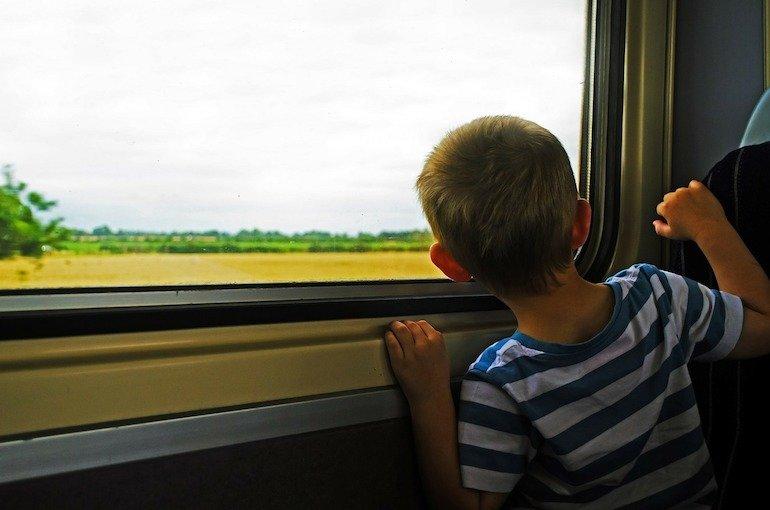 vacanza last minute con i bambini in treno