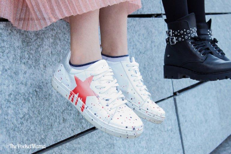 sneakers Melania con stella rossa