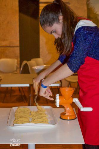 Nicole alla cooking class