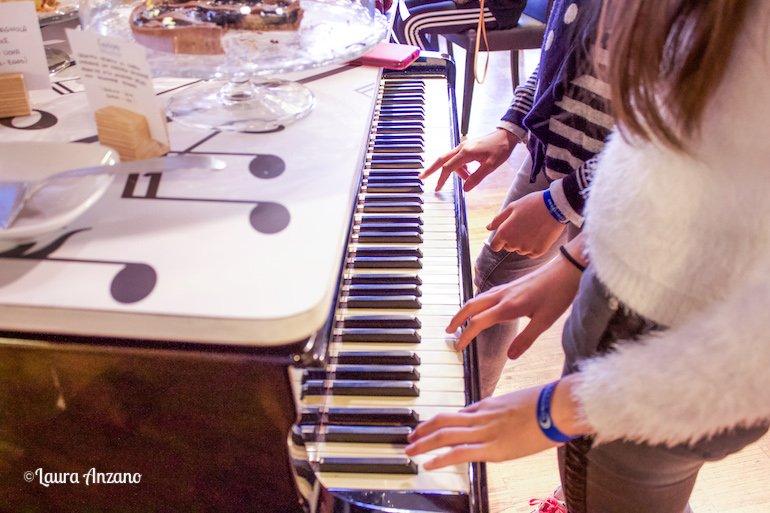 pianoforte sala colazione