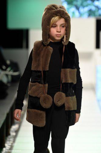 gilet eco pelliccia bambino Carbon Soldier AI 2019 2020