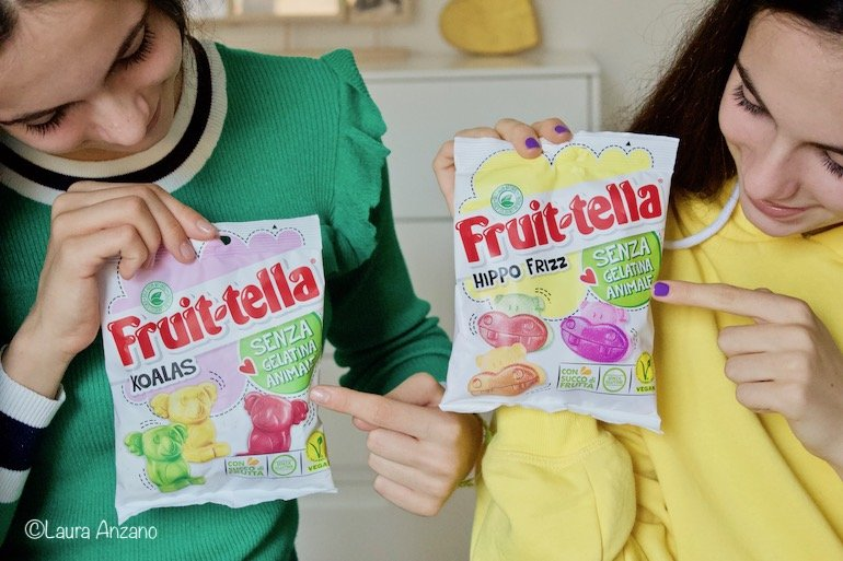 caramelle Fruittella senza gelatina animale