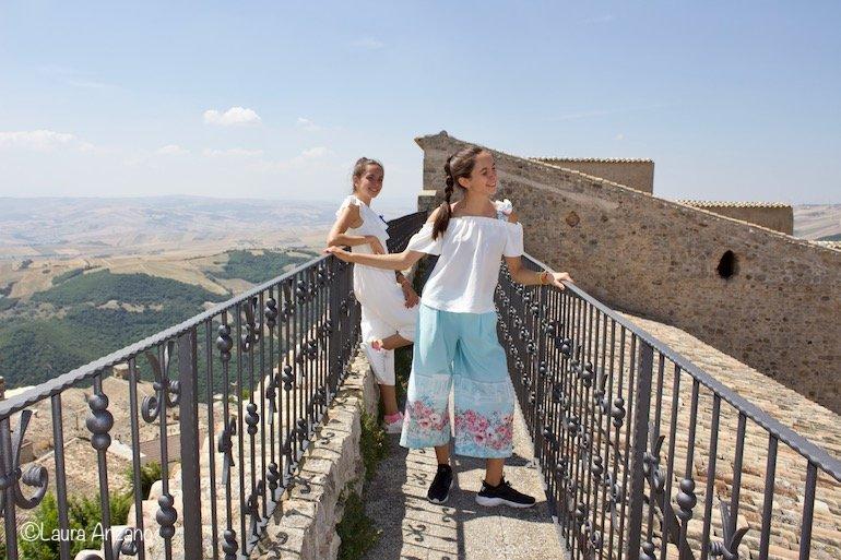 balconata castella imperiale sant'agata di puglia