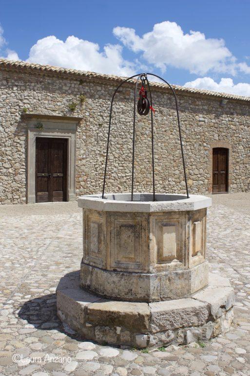 cisterna raccolta acqua piovana castello di deliceto