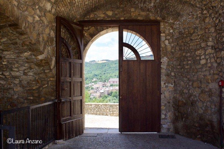 ingresso castello di deliceto