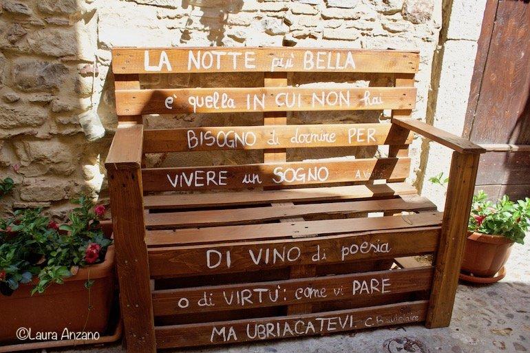 panchina Sant'Agata di Puglia