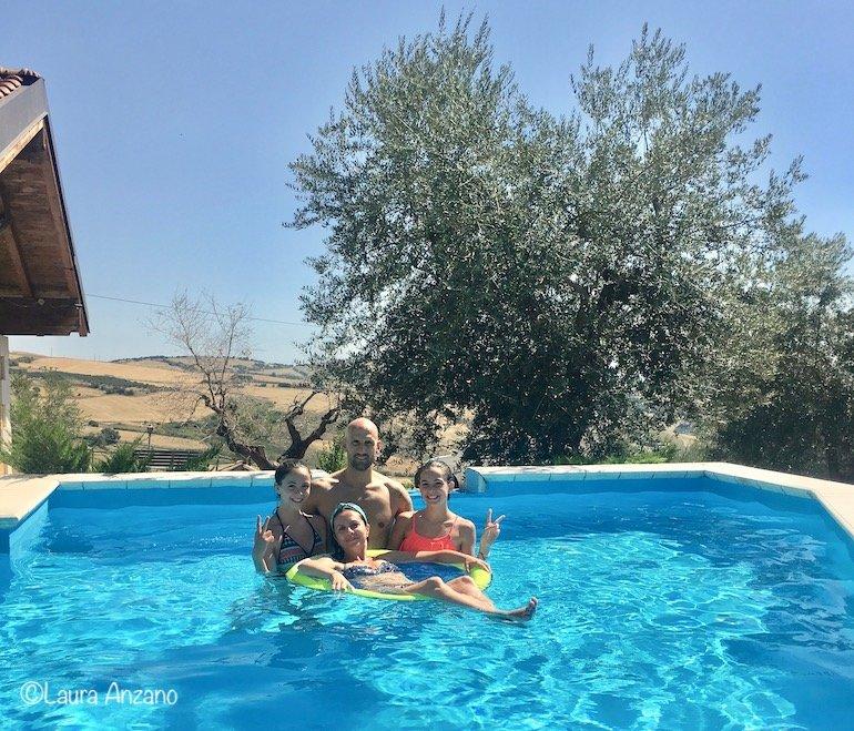 piscina agriturismo sant'arcangelo sant'agata di puglia