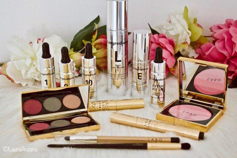 beauty routine con Labo X-ingredients e Labo Filler Make-up