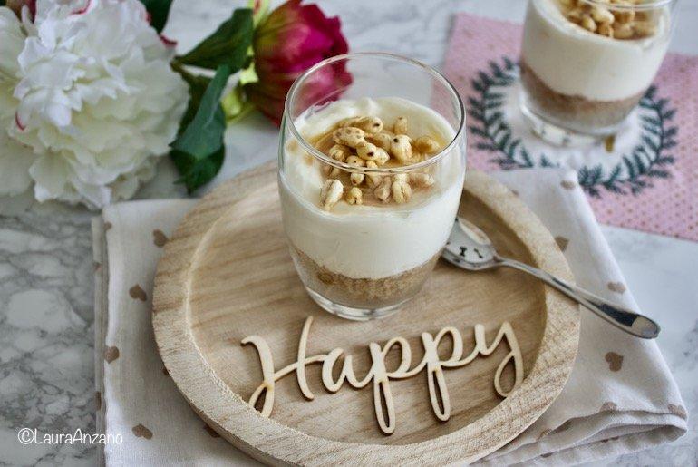 ricetta cheesecake in bicchiere