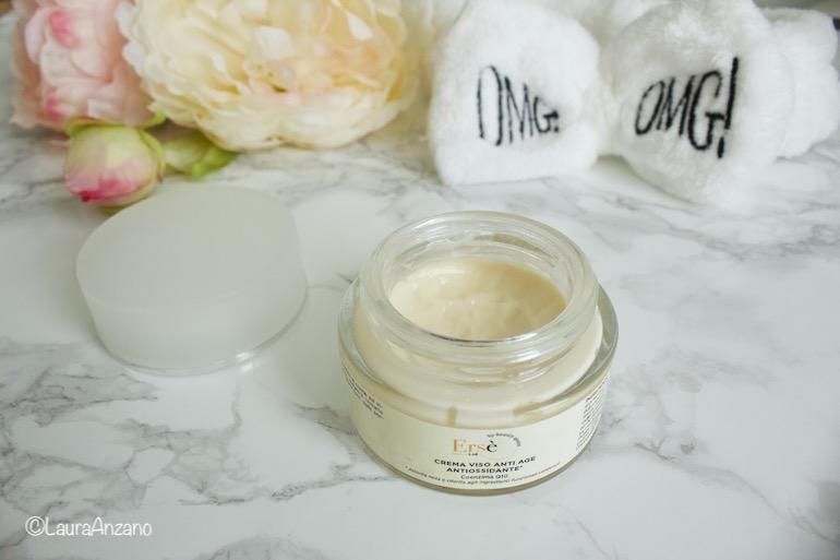 crema antiossidante antiage Ersè by beauty queen brescia