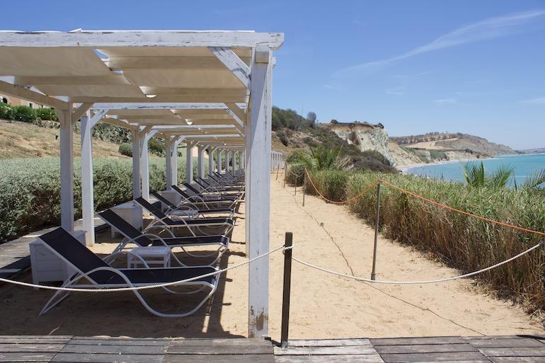 solarium falconara beach resort & spa