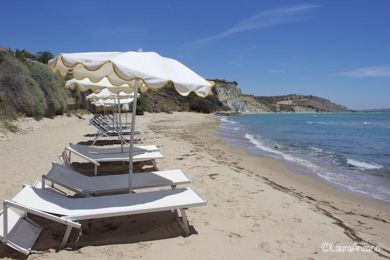 spiaggia privata falconara beach resort & spa